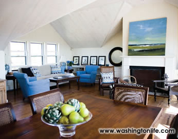Chris and kathleen matthews at home in nantucket island for Inside homes rich famous