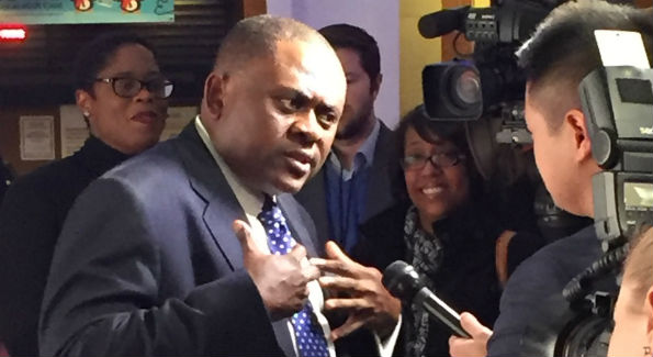 Dr. Bennet Omalu (Photo by Rita Khawand)