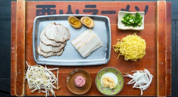 Ramen Ingredients. Photo: Ray Lopez