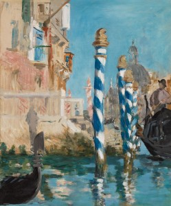 "Édouard Manet - ""Views in Venice - The Grand Canal"""